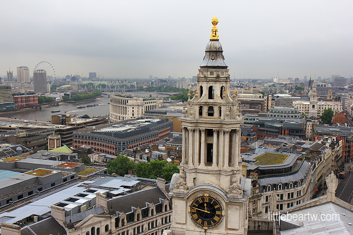 【英格蘭Day2-1】倫敦:聖保羅大教堂(St Paul's Cathedral)– 宏偉大圓頂、眺望倫敦市區好地方