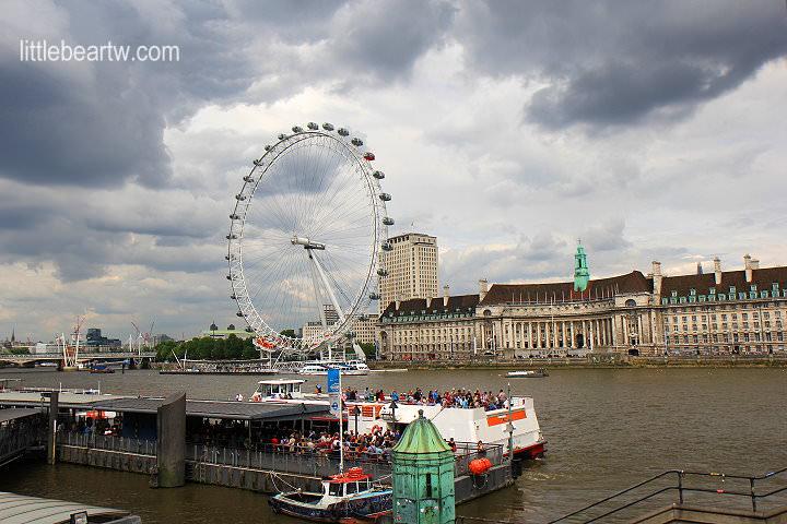 【英格蘭Day5-3】倫敦:泰晤士河遊船Thames River City Cruises-西敏(Westminster)→ 格林威治(Greenwich)