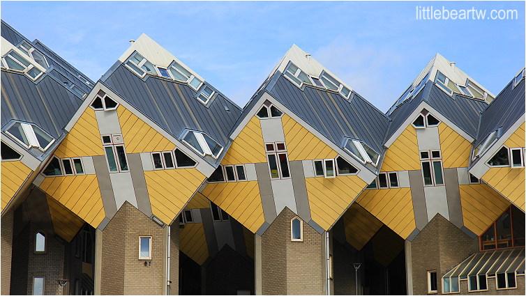 【荷蘭Day3-1】鹿特丹:方塊屋(Cube House)