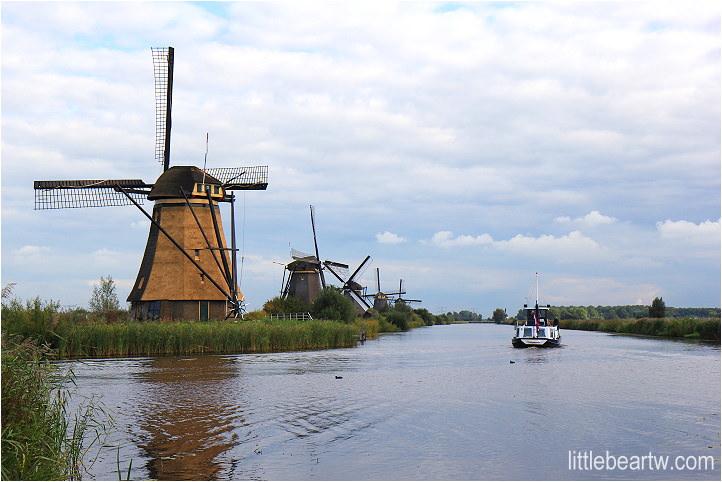 【荷蘭Day3-2】南荷蘭省:世界遺產-小孩堤防風車群(Windmills at Kinderdijk)