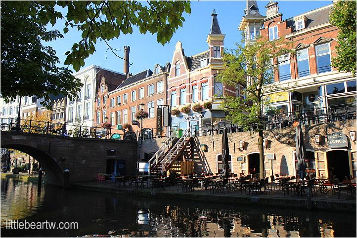 【荷蘭Day5-1】烏特勒支:漫步舊運河(Oudegracht)