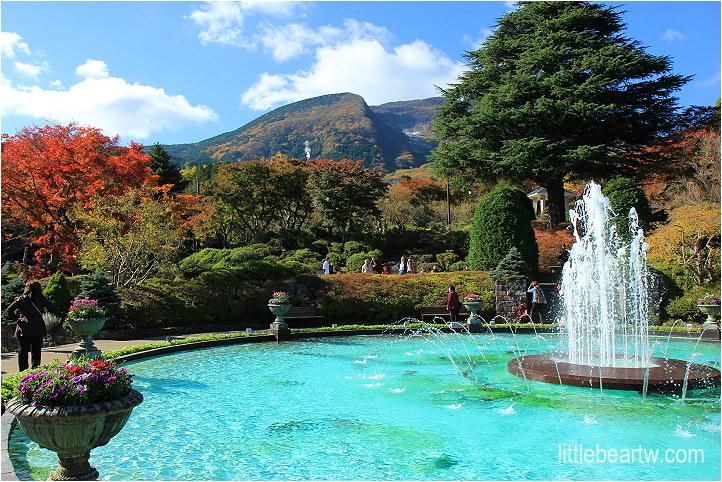 【箱根紅葉Day3-1】強羅公園 – 四季皆美的法式庭園