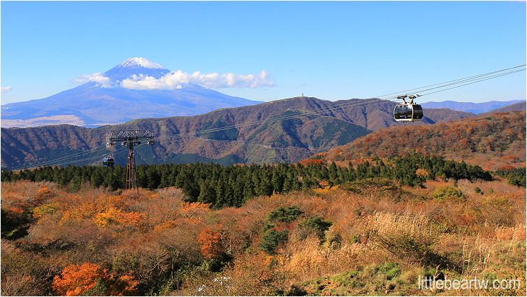 【箱根紅葉Day4-2】大涌谷:空中纜車、火山硫磺噴煙、延命溫泉黑玉子、眺望富士山最佳地點