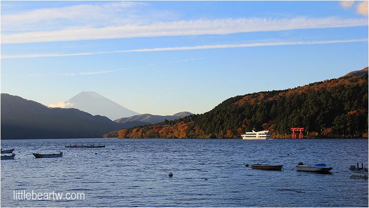 【箱根紅葉Day4-4】舊街道杉並木遇見箱根原風景・元箱根港眺望蘆之湖富士山