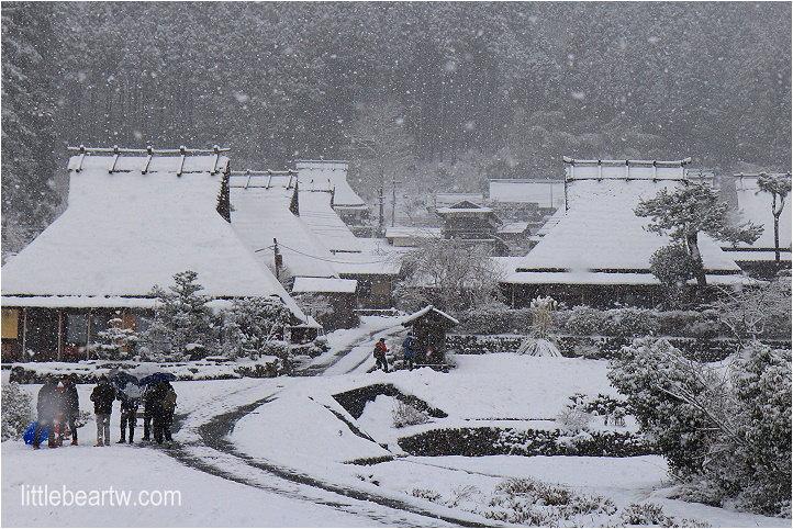 【北近畿冬Day2-2】森の京都 療癒系傳統茅葺屋 – 美山町(かやぶきの里・北村)