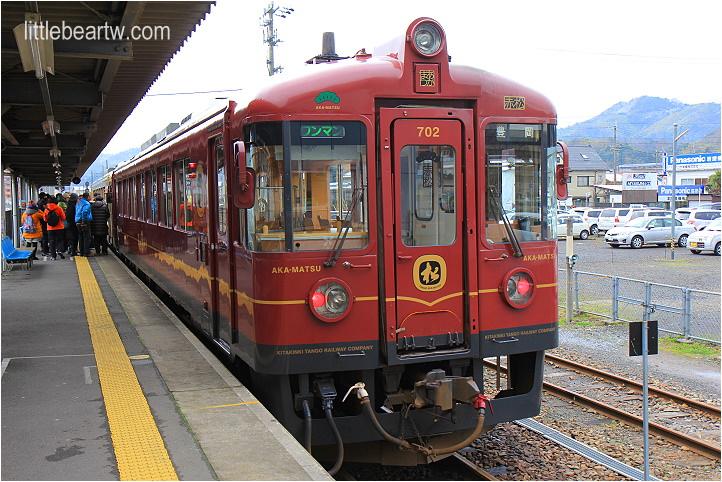 【北近畿冬Day3-1】西舞鶴 → 天橋立:海景觀光列車 – 北近畿丹後鐵道赤松號(丹後あかまつ号)