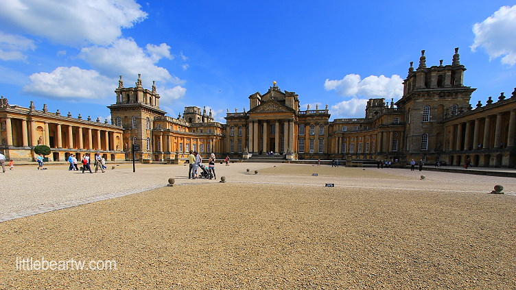 【英格蘭Day4-2】牛津:世界遺產-布倫海姆宮(Blenheim Palace)