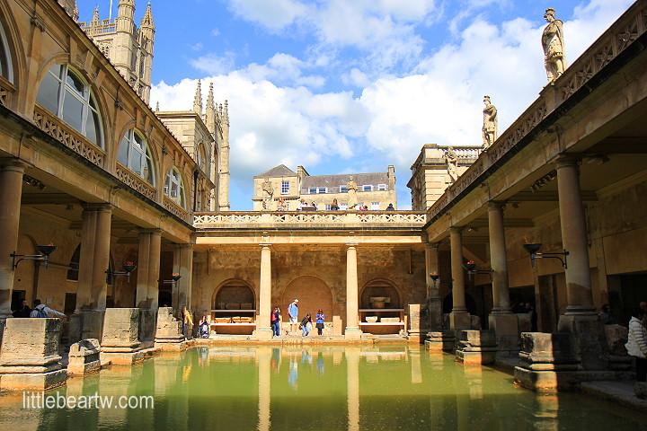 【英格蘭Day8-2】巴斯:世界遺產-羅馬浴場(Roman Baths)