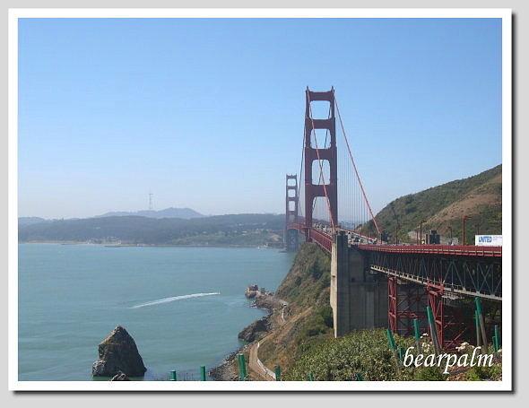 【舊金山】金門大橋&Baker海灘