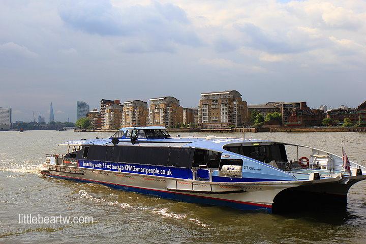 泰晤士河遊船Thames Citycruise-42